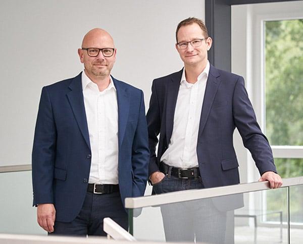 Reiner Krug und Mark A. Hoffmann