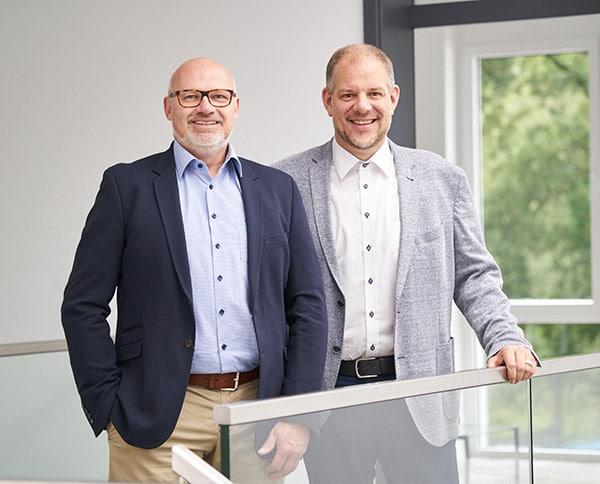 Torsten Mauk und Oliver Speckmann